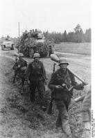 Brückenkopf Memel, Panzerfüsiliere und Schützenpanzer