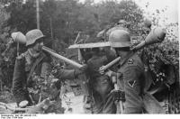 Brückenkopf Memel, Grenadiere mit Panzerfaust