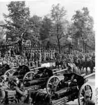Warschau, Parade vor Adolf Hitler