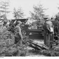 Dänemark, Soldaten mit Feldkanone