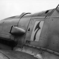Geschwader-/Staffelabzeichen einer Me 109