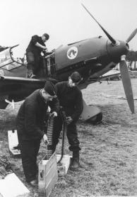 Flugzeug Me 109, Wartung und Bewaffnung