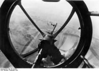 Polen, Blick aus Bugkanzel einer He 111