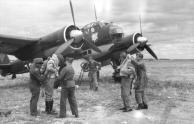 Flugzeug Junkers Ju 88, Startvorbereitung
