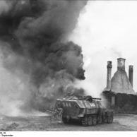 Russland, Schützenpanzer mit Flammenwerfer