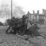 Polen, Straßenkampf, Infanterie
