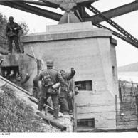Belgien, Albert-Canal, Gefangene