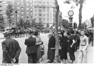 Paris, Einmarsch deutscher Truppen