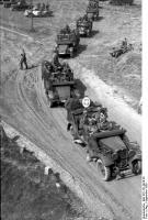 Polen, Kolonne motorisierter deutscherTruppen