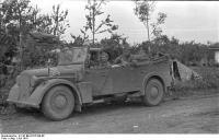 Russland, deutsche Soldaten inAuto