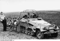 Frankreich, Heinz Guderian inSchützenpanzer