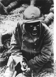 Westeuropa, gefangener französischer Soldat
