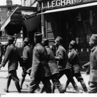 Frankreich, Limoges, Französische Soldaten