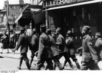 Frankreich, Limoges, FranzösischeSoldaten