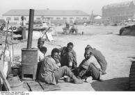 Dijon, farbige Kriegsgefangene