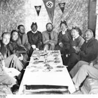 Tibetexpedition, Empfang für Würdenträger
