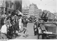 Amsterdam, Durchmarsch deutscherTruppen