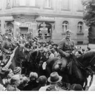 Ferdinand Schröder als Soldat in Heilbronn