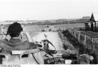 """Russland, Soldat im Panzer V """"Panther"""""""
