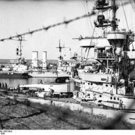"""Linienschiffe """"Schlesien"""", """"Schleswig-Holstein"""""""