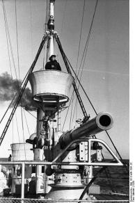 VP-Boot, Leben an Bord, Ausguck