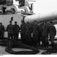 """Danzig, Linienschiff """"Schleswig-Holstein"""""""