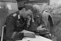Rumänien, Offiziere der Div. »Großdeutschland«