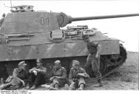 "Russland, Oberst Langkeit, Panzer V ""Panther"""