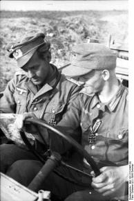 Rumänien, Soldaten der Div. »Großdeutschland«