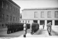 Berlin, Kaserne der LSSAH, Waffen-SS beim Appell