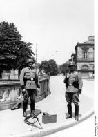 Straßburg, Polizeiposten