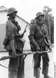 Russland, Zwei deutsche Infanteristen