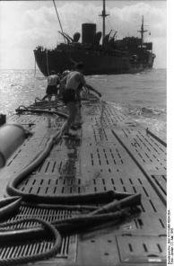 Südatlantik, U-107 mit Versorgungsschiff