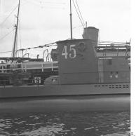 Kiel, Indienststellung U-45
