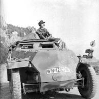Balkan, Soldat in Schützenpanzer