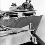 Balkan, Soldaten in Schützenpanzer