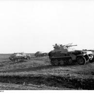 Russland-Süd, Schützenpanzer mit 2cm Kanone