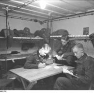 Im Westen, Bunker an Oberrheinfront am Fluss