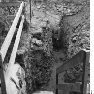 Guernsey, Soldaten in Graben