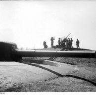 Dänemark, leichte Flak in Artilleriestellung