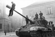 Budapest, Panzer VI (Königstiger)