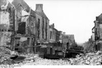 Villers-Bocage, zerstörte Panzer IV undVI