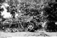 Italien, getarntes Sturmgeschütz III