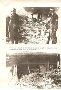 Na fotografia aparece dois militares da Polícia do Exército João Washington Melo e Sodado Seixas, 2º BPE!
