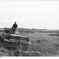 Balkan, Panzer III auf dem Marsch