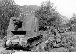 Griechenland, Panzer I B mit I.G. 33