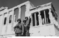 Griechenland, deutsche Soldaten in Athen