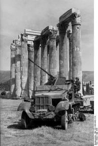 Griechenland, Flak auf Kettenfahrzeug