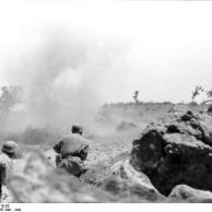 Kreta, Fallschirmjäger im Gefecht