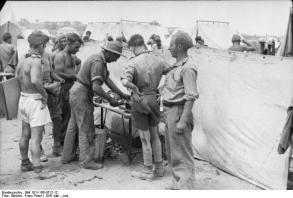 Kreta, britische Kriegsgefangene